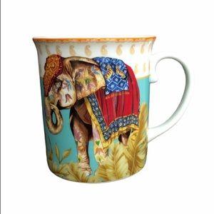 William Sonoma ceramic elephant coffee tea mug
